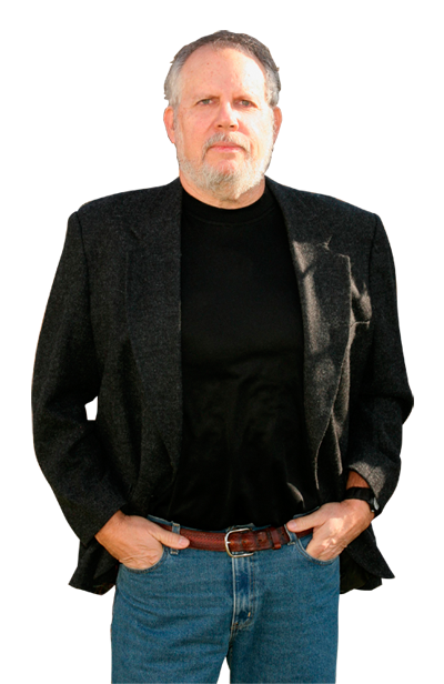 Chris Angus, author of several sci-fi thrillers