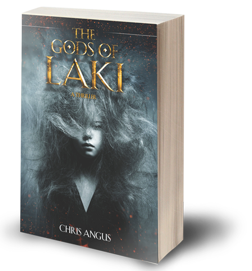 The Gods of Laki, a novel by Chris Angus
