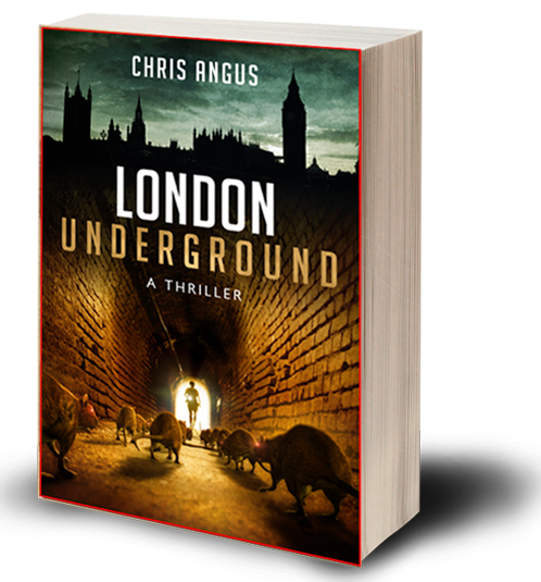 London Underground, a novel by Chris Angus